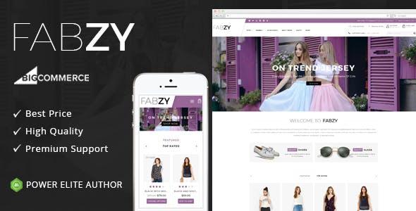 Febzy - Multipurpose Stencil BigCommerce Theme
