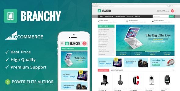 Branchy - Multipurpose Stencil BigCommerce Theme - BigCommerce eCommerce