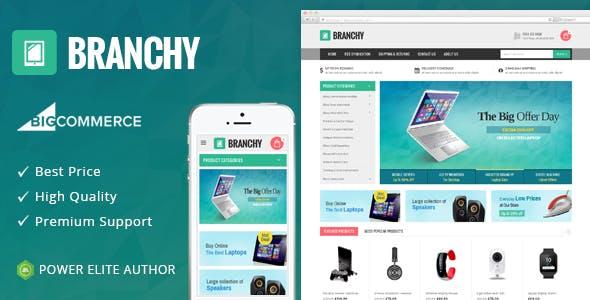 Branchy - Multipurpose Stencil BigCommerce Theme