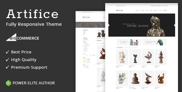 Artifice - Multipurpose Stencil BigCommerce Theme - BigCommerce eCommerce