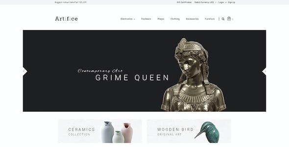 Artifice - Multipurpose Stencil BigCommerce Theme