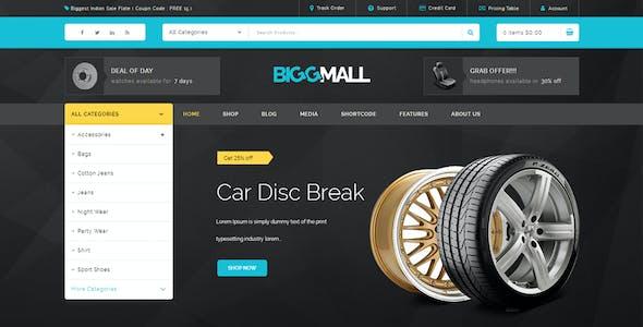 BiggMall - Multipurpose WooCommerce Theme