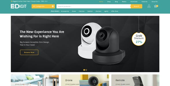 eDigit - Multipurpose WooCommerce Theme