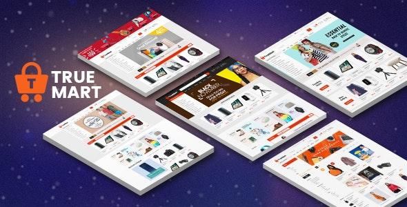 Truemart eCommerce Bootstrap Template