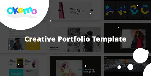 Okomo - Creative Portfolio HTML Template - Portfolio Creative