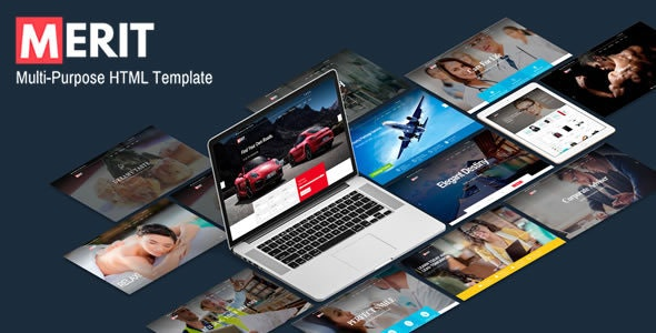 Merit - Premium Multi-Purpose HTML5 Template - Creative Site Templates