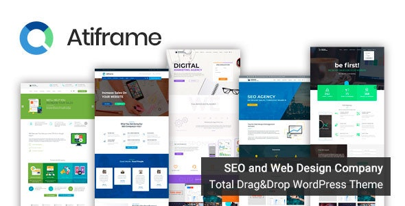 Atiframe - SEO and Web Design Company WordPress Theme - Business Corporate
