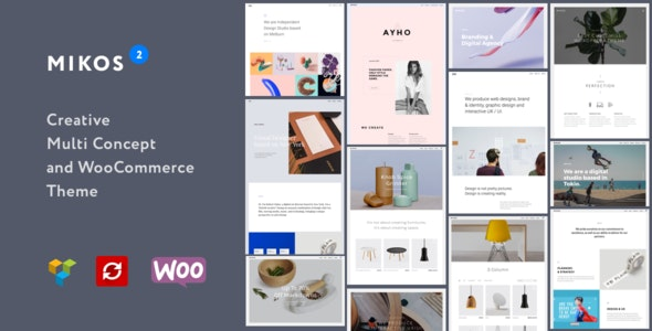 Mikos 2 - Creative Multi Concept and WooCommerce WordPress Theme - Creative WordPress