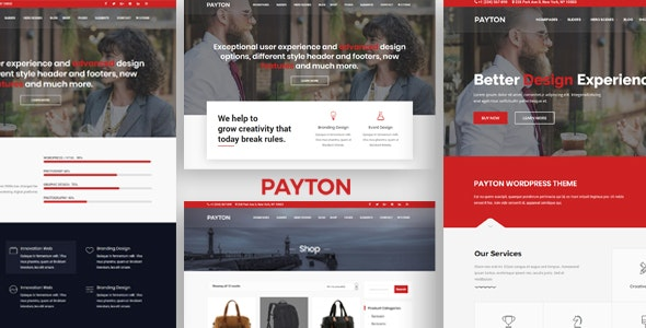 Payton - Business Creative WordPress Multipurpose Theme by payothemes