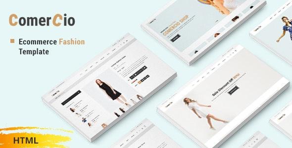Comercio - Fashion Shop Ecommerce HTML Template - Fashion Retail