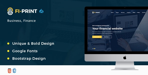 Fi-Print – Business And Accountant Corporate Drupal 8.9 Theme - Business Corporate