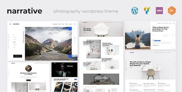 Narrative - Photography WordPress