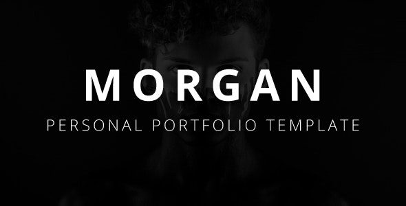 Morgan - Personal Portfolio Template - Creative Site Templates
