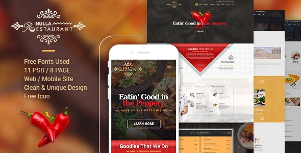 3002 - Restaurant PSD Template by cakirx | ThemeForest