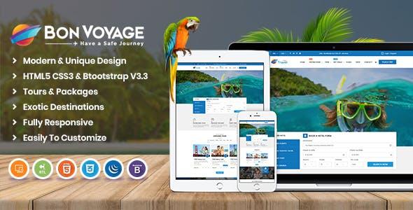 Bon Voyage HTML Template