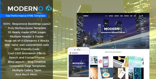 Moderno - Multipurpose Fast Performance Drupal 8.7 Theme - Corporate Drupal