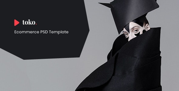 Toko - eCommerce PSD Template - Shopping Retail