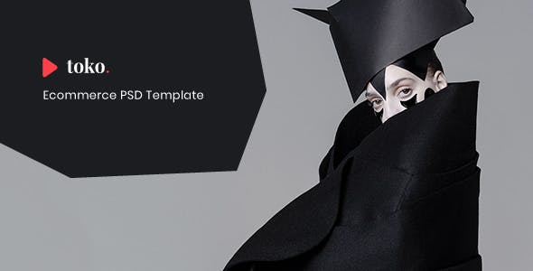 Toko - eCommerce PSD Template
