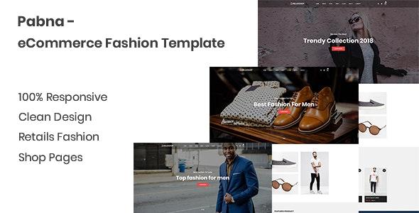 Pabna - eCommerce Fashion Template - Fashion Retail