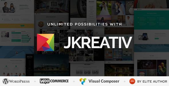 Jkreativ - Multilayer Parallax MultiPurpose Theme - Photography Creative