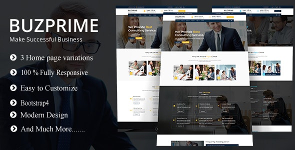 Busprime - Consulting & Business HTML Template - Business Corporate