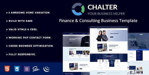 Chalter - Consulting - Business Corporate