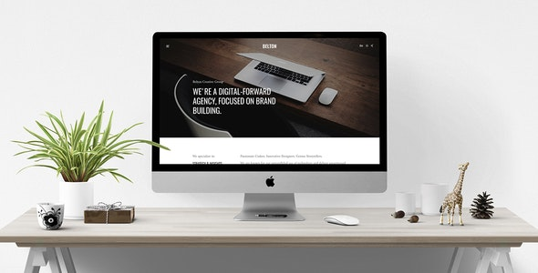 Belton – Minimal Multipurpose WordPress Theme - Business Corporate