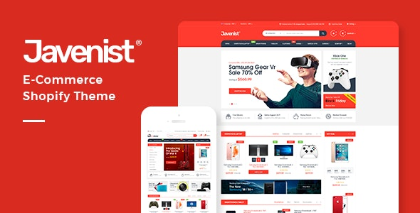 Electronics, Food, Tools Store Shopify Theme - Javenist - Shopping Shopify