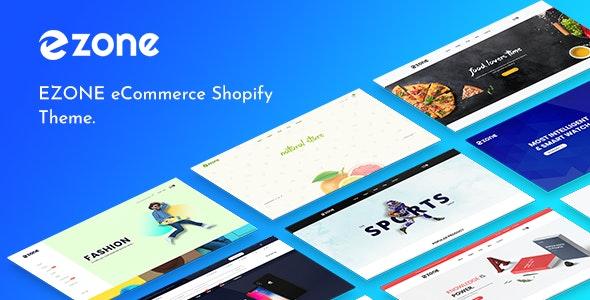 Ezone - multipurpose ecommerce shopify theme - Shopping Shopify