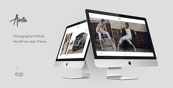 Andra - Photography Portfolio WordPress Ajax Theme - Photography Creative