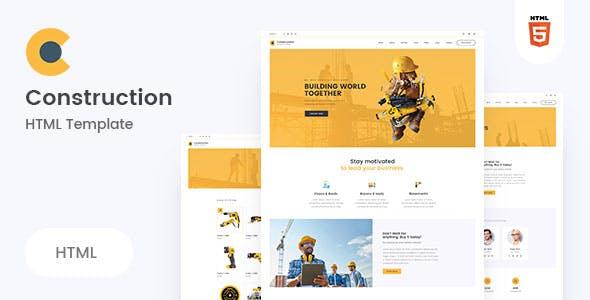 Neerman - Clean Construction HTML5 Template