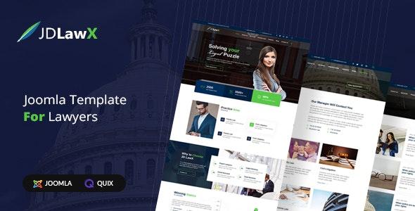 JD LawX - Lawyer Joomla Template - Joomla CMS Themes