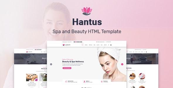 Hantus - Spa and Beauty HTML Template - Health & Beauty Retail