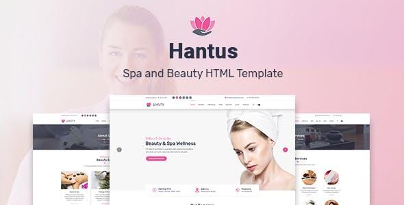 Hantus - Spa and Beauty HTML Template