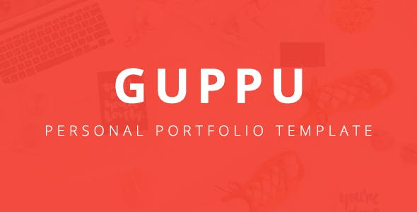 Guppy - Bootstrap 4 One Page Personal Portfolio Template