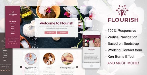 Flourish - Beauty / Spa HTML5 Template - Health & Beauty Retail