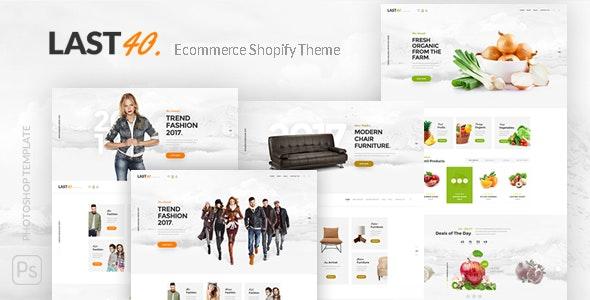 Last40 Store - Ecommerce Shopify Theme - Shopify eCommerce