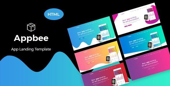Appbee - App Landing HTML5 Template