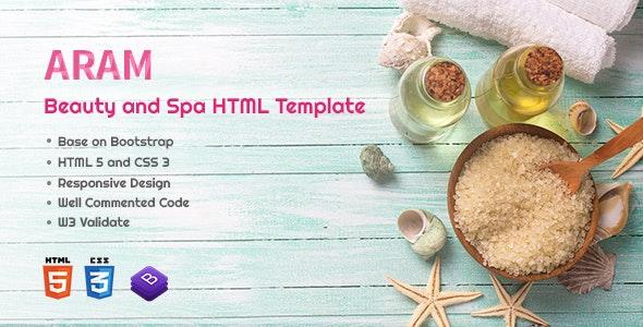 Aram - Beauty & Spa Html Template - Health & Beauty Retail