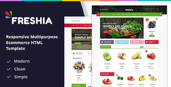 Freshia Responsive Ecommerce HTML Template