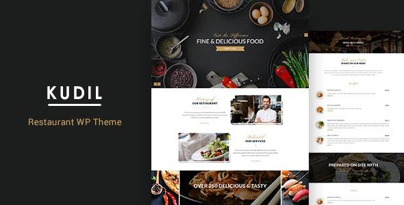 Kudil   Eatery, Cafe WordPress - Food Retail
