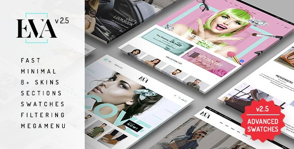 Eva - Responsive eCommerce Shopify Sections Theme - Fashion Shopify
