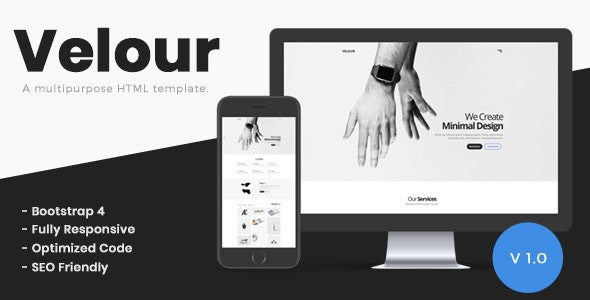 Velour - A Multipurpose HTML Template - Corporate Site Templates