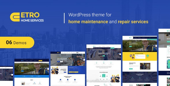 Etro | Maintenance Services WordPress Theme - Corporate WordPress