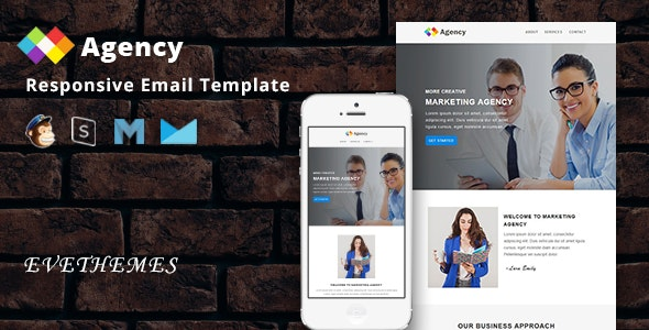 Agency - Responsive Email Template - Newsletters Email Templates