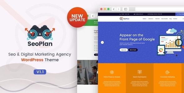 SeoPlan & Digital Marketing Agency WordPress Theme - Marketing Corporate