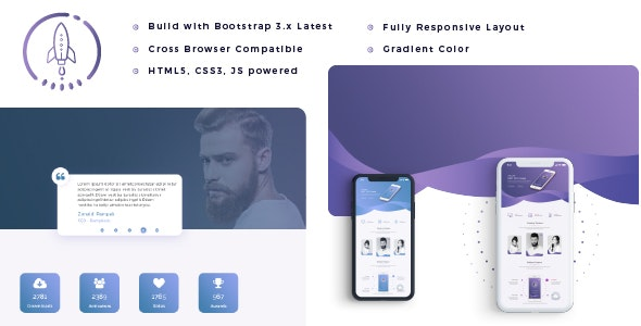 Mappy - APP Landing  HTML5 Template - Site Templates