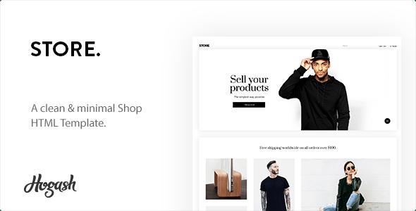 Minstor HTML Template - Shopping Retail