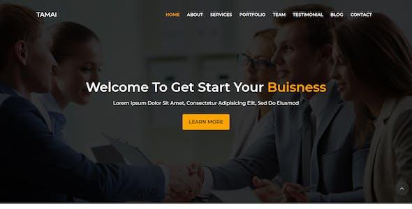 Tamai - Multipurpose Business Landing Page Template