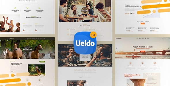 Ueldo - Responsive Multi-Purpose WordPress theme - Business Corporate